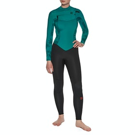 Billabong 4/3mm Furnace Synergy Chest Zip Wetsuit - Mermaid