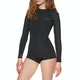 Billabong 2mm Eco Spring Fever Back Zip Long Sleeve Shorty Womens Wetsuit