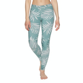 Billabong Skinny Sea Legs 1mm Womens Wetsuit Pants - Blue Palms