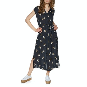 Robe Femme Billabong Little Flirt - Black Floral