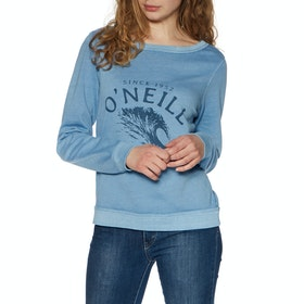 O'Neill Lw Becky Crew Womens Sweater - Walton Blue