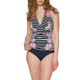 Joules Marissa Tankinis - Navy Stripe Floral