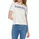 Superdry Reg Flock Boxy Short Sleeve T-Shirt