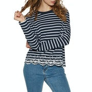 Superdry Summer Schiffli Womens Long Sleeve T-Shirt