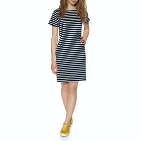 Joules Riviera Dress - Navy Cream Stripe