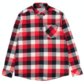 Carhartt Keagan Hemd - Keagan Check, Etna Red