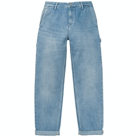 Carhartt Pierce Pant Ladies Jeans - Blue Light Stone Washed