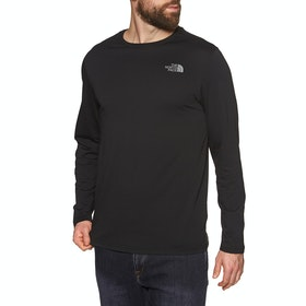 North Face Easy , Langermet t-skjorte - TNF Black Zinc Grey