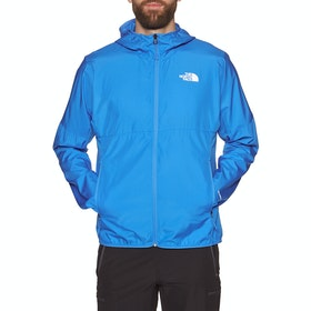 North Face Flyweight Hooded , Vindtett jakke - Clear Lake Blue