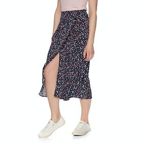 Joules Alissa Skirt - Navy Dash Spot