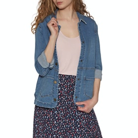 Joules Imogen Womens Bunda - Blue