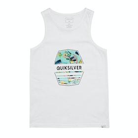 Quiksilver Drift Away Boys Tank Vest - White