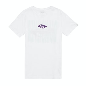 Quiksilver Either Way Boys Short Sleeve T-Shirt - White