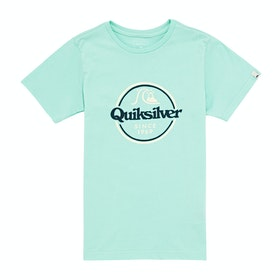 Quiksilver Words Remain II Boys Short Sleeve T-Shirt - Beach Glass