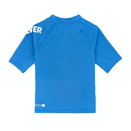 Rash Vest Boys Quiksilver All Time Short Sleeve