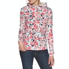 Joules Marlston Dame Pullover Hættetrøje - Cream Floral