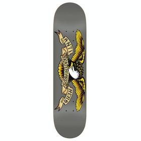 Anti Hero Classic Eagle 8.25 Inch Skateboard Deck - Grey