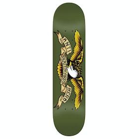 Anti Hero Classic Eagle 8.38 Inch Skateboard Deck - Green
