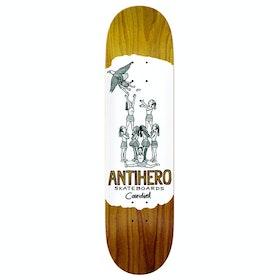 Anti Hero Cardiel Oblivion Skateboard Deck - White
