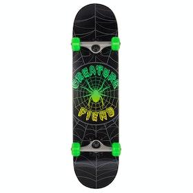 Skateboard Creature Web - Green