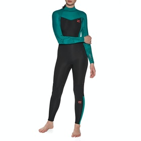 Billabong 3/2mm Synergy Back Zip Wetsuit - Mermaid