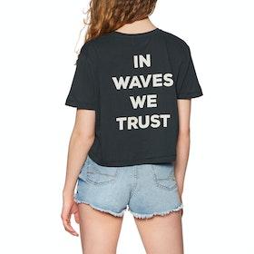 Billabong Waves All Day Short Sleeve T-Shirt - Black