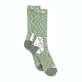 Rip N Dip Lord Nermal Sports Socks - Grey Speckle