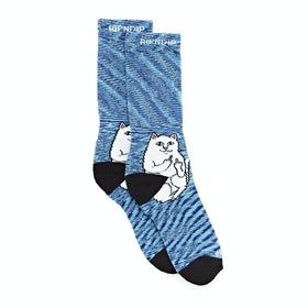 Rip N Dip Lord Nermal Sports Socks - Navy Speckle