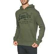 Superdry Vintage Logo Shirt Shop Bonded Pullover Hoody