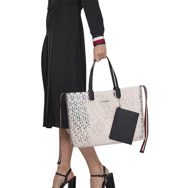 Tommy Hilfiger Iconic Dames Shopper Tas