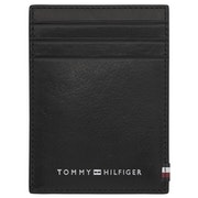 Tommy Hilfiger Polished Leather Vertical Herren Card Holder