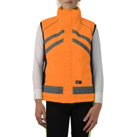 Hy Viz Padded Reflective Waistcoat - Orange