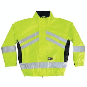 Hy Viz Reflective Waterproof Childrens Riding Jacket - Yellow