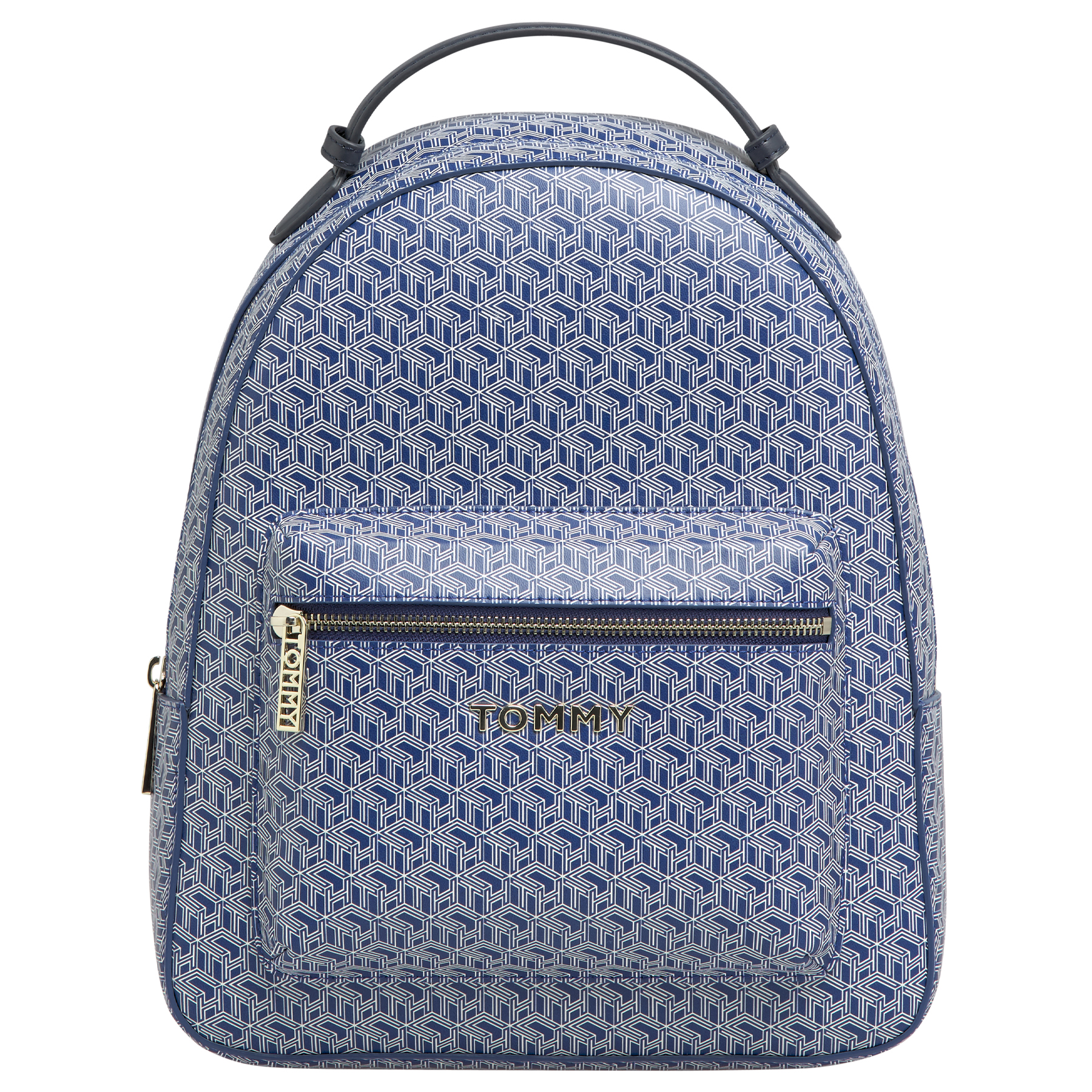 Tommy Hilfiger Womens TH Monogram Backpack