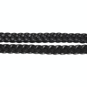 Hy Plaited Reins - Black