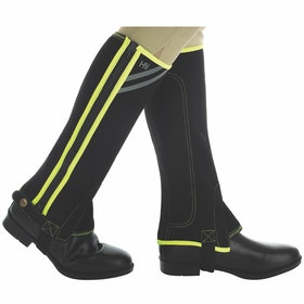 Polainas Hy Viz Reflective Half - Yellow Silver Black