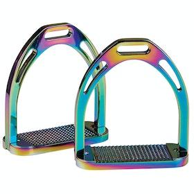 Étriers Korsteel Aluminium - Rainbow