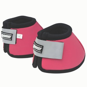 Roma Reflective No-Turn Bell Over Reach Boots - Pink