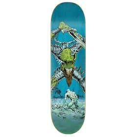 Creature Vx Battlion Skateboard Deck - Blue