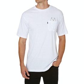 Rip N Dip Lord Nermal Pocket Short Sleeve T-Shirt - White