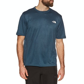 North Face Reaxion Amp Crew , Sportstopp - Blue Wing Teal Heather