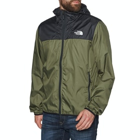 North Face Cyclone 2 Hooded , Vindtett jakke - TNF Black Burnt Olive Green