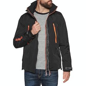 Superdry Hooded Tech Attacker Windproof Jacket - Black