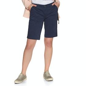 Superdry City Chino Womens Shorts - Atlantic Navy