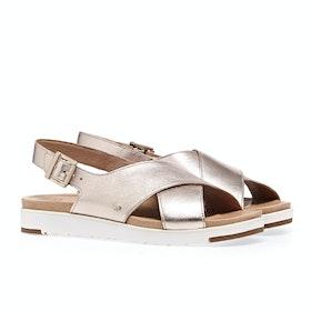 UGG Kamile Sandals - Blush Metallic