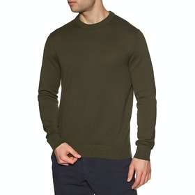 Paul Smith Crew Neck Sweater - Olive