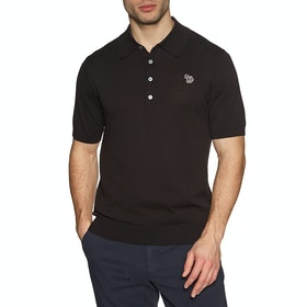 Paul Smith Zebra Polo Shirt - Black