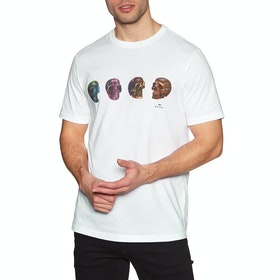 Paul Smith Skulls Short Sleeve T-Shirt - White