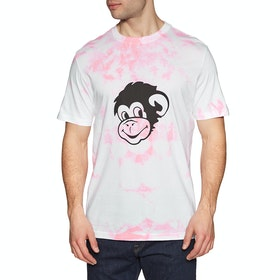 Paul Smith Tiedye Short Sleeve T-Shirt - Pink