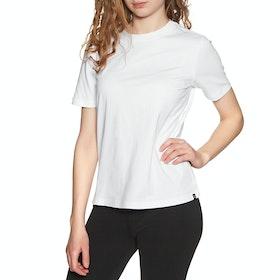 Superdry The Standard Label Womens Short Sleeve T-Shirt - Brilliant White